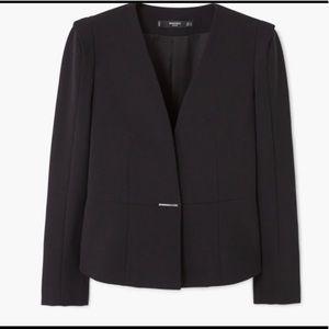Mango Jackets & Coats - Mango Metallic Fastening Blazer (NWT)